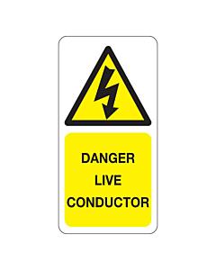 Danger Live Conductor Labels