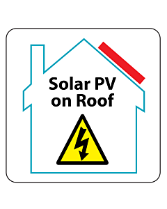 PV on Roof Labels