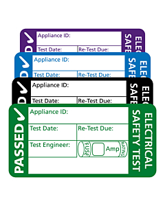 3rd Edition PAT Test Labels 50x25mm