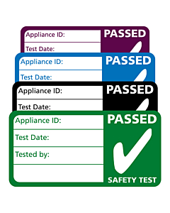 4th Edition PAT Test Passed Labels 50x25mm