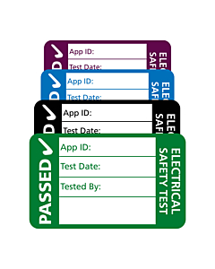 4th Edition PAT Test Labels 40x25mm