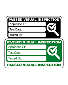 4th Edition Visual Inspection Labels 50x25mm