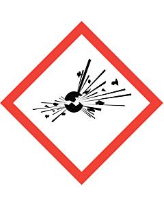 GHS & CLP Explosive Labels