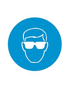 Wear Eye Protection Labels