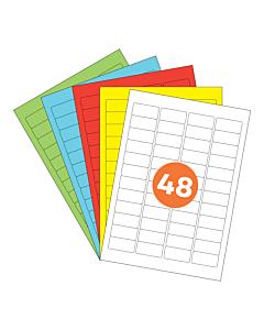 A4 Label Sheets 48 Labels Per Sheet 46x21mm