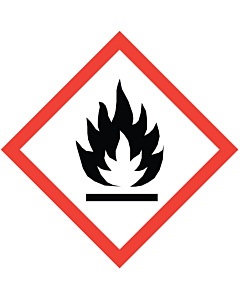 GHS & CLP Flammable Labels