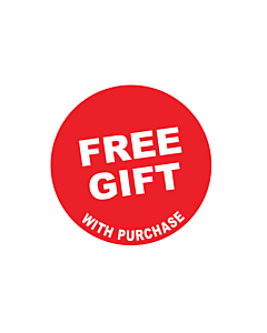 Free Gift Stickers 30mm