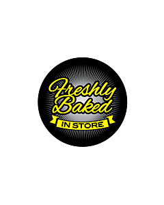 Freshly Baked in Store Labels