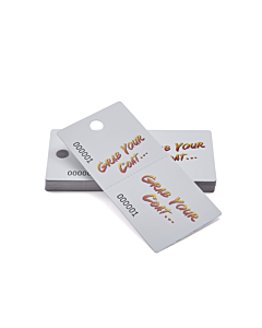 Grab Your Coat Cloakroom Tags