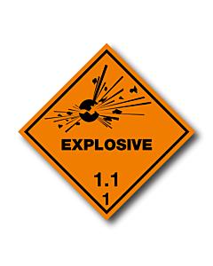 Explosive 1.1 Labels