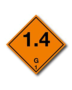 Explosive 1.4G Labels