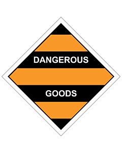Dangerous Goods Labels 100x100mm (250 Labels)