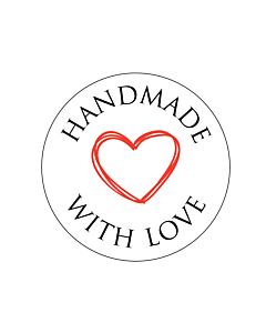 Handmade Stickers 30mm