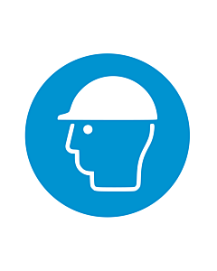 Wear Head Protection Labels