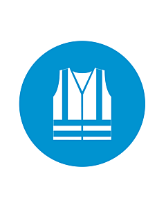 Wear High Visibility Clothing Labels