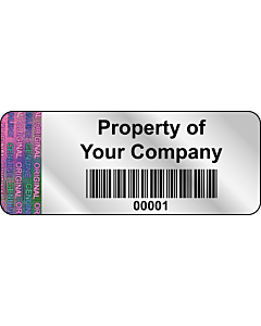 Personalised Void Labels 50x20mm