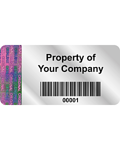 Personalised Void Labels 50x25mm