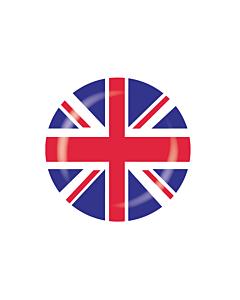 Union Jack Stickers 30mm