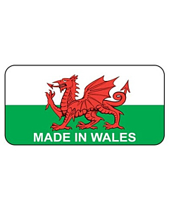Made in Wales Stickers