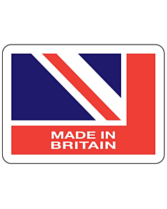 Made in Britain Stickers 45x33mm