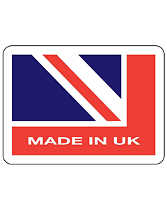 Made in UK Stickers 45x33mm