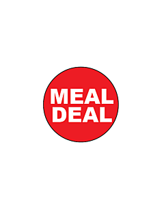Meal Deal Stickers 20mm