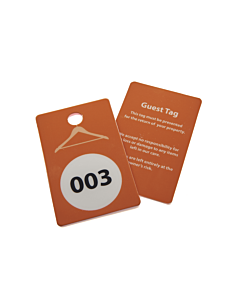 Reusable Cloakroom Tags
