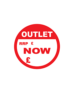 Outlet RRP / Now Stickers