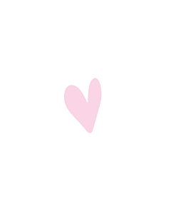 Pink Heart Stickers 5x7mm