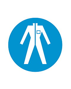 Wear Protective Clothing Labels