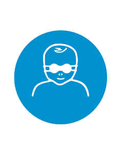 Protect Infants Eyes with Opaque Eye Protection Labels