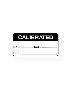 Calibration Labels 38x19mm