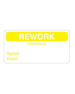 Rework Labels