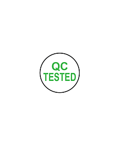QC Tested Labels 10mm