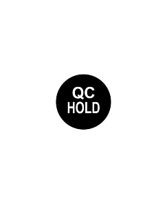 QC Hold Labels 10mm