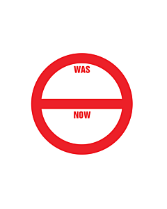 Was / Now Sale Stickers