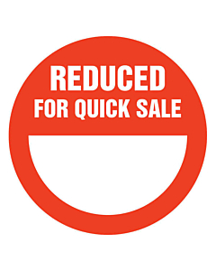 Reduced for Quick Sale Stickers 50mm
