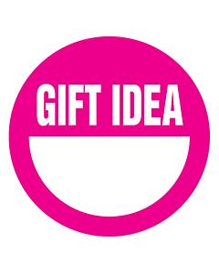 Gift Idea Stickers 50mm