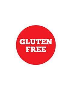 Gluten Free Stickers 30mm