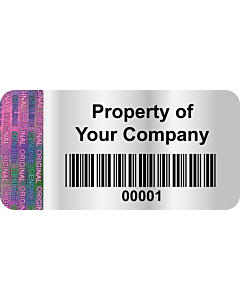 Personalised Void Labels 40x20mm