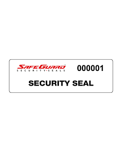 SafeGuard No Residue Void Seal Labels 125x35mm