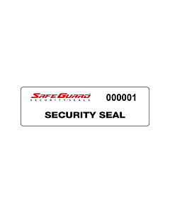 SafeGuard No Residue Void Seal Labels 100x25mm