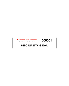 SafeGuard No Residue Void Seal Labels 75x20mm