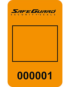 SafeGuard No Residue Camera Phone Security Labels 40x25mm