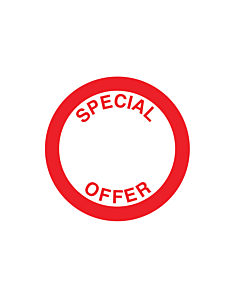 Special Offer Sale Stickers