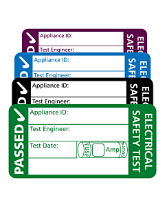 4th Edition PAT Test Labels 50x25mm