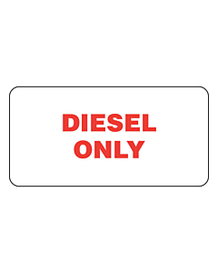 Diesel Only Labels