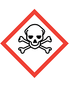 GHS & CLP Toxic Labels