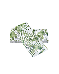 Palm Leaf Cloakroom Tags