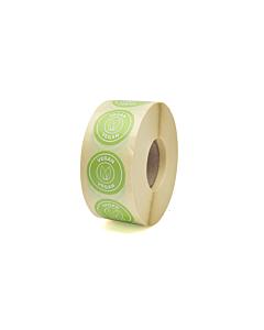Vegan Stickers 25mm